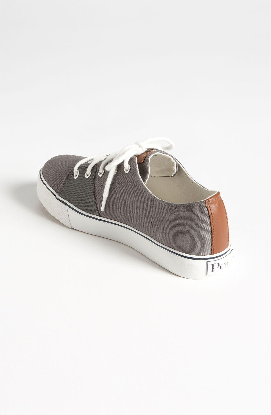 Alternate Image 2  - Ralph Lauren Sneaker (Toddler, Little Kid & Big Kid)