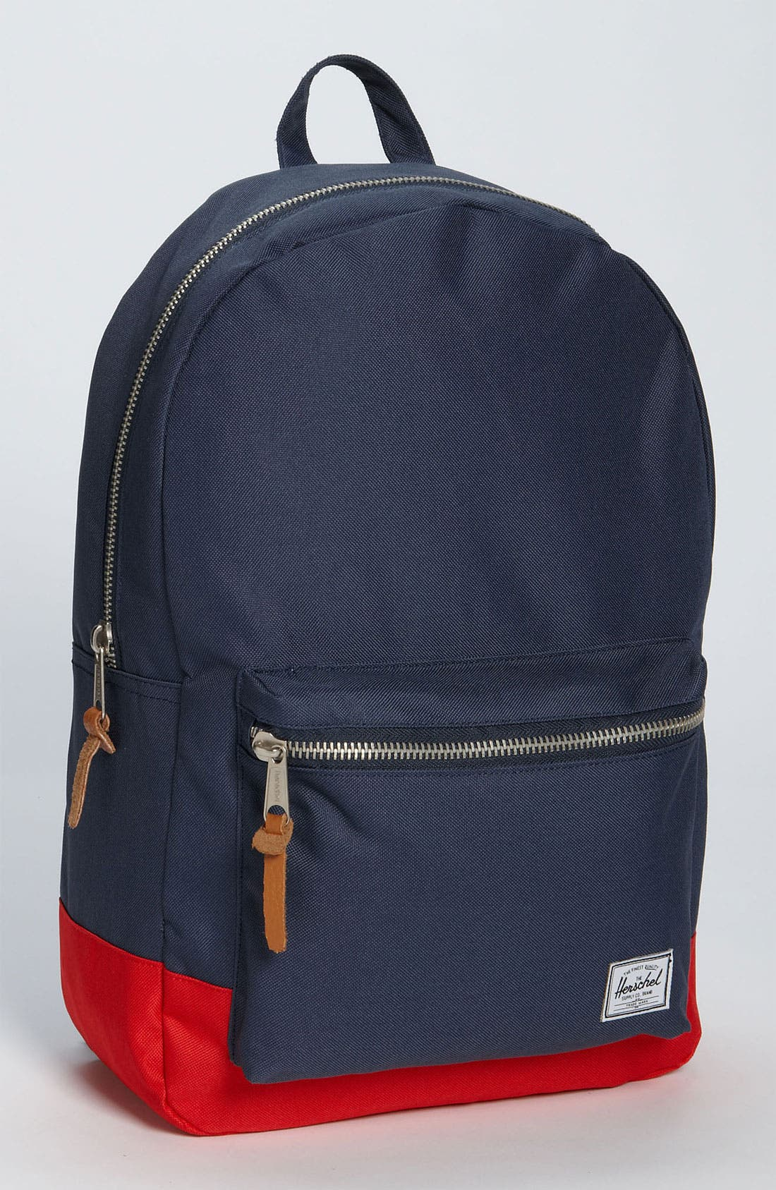 Settlement Backpack,                         Main,                         color, Navy/ Red