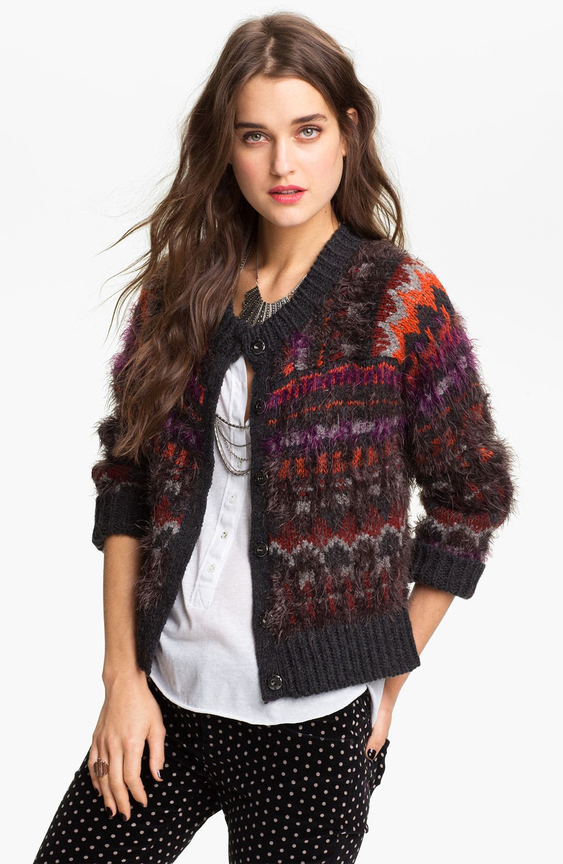 Alternate Image 1 Selected - Free People 'Pattern Party' Cardigan