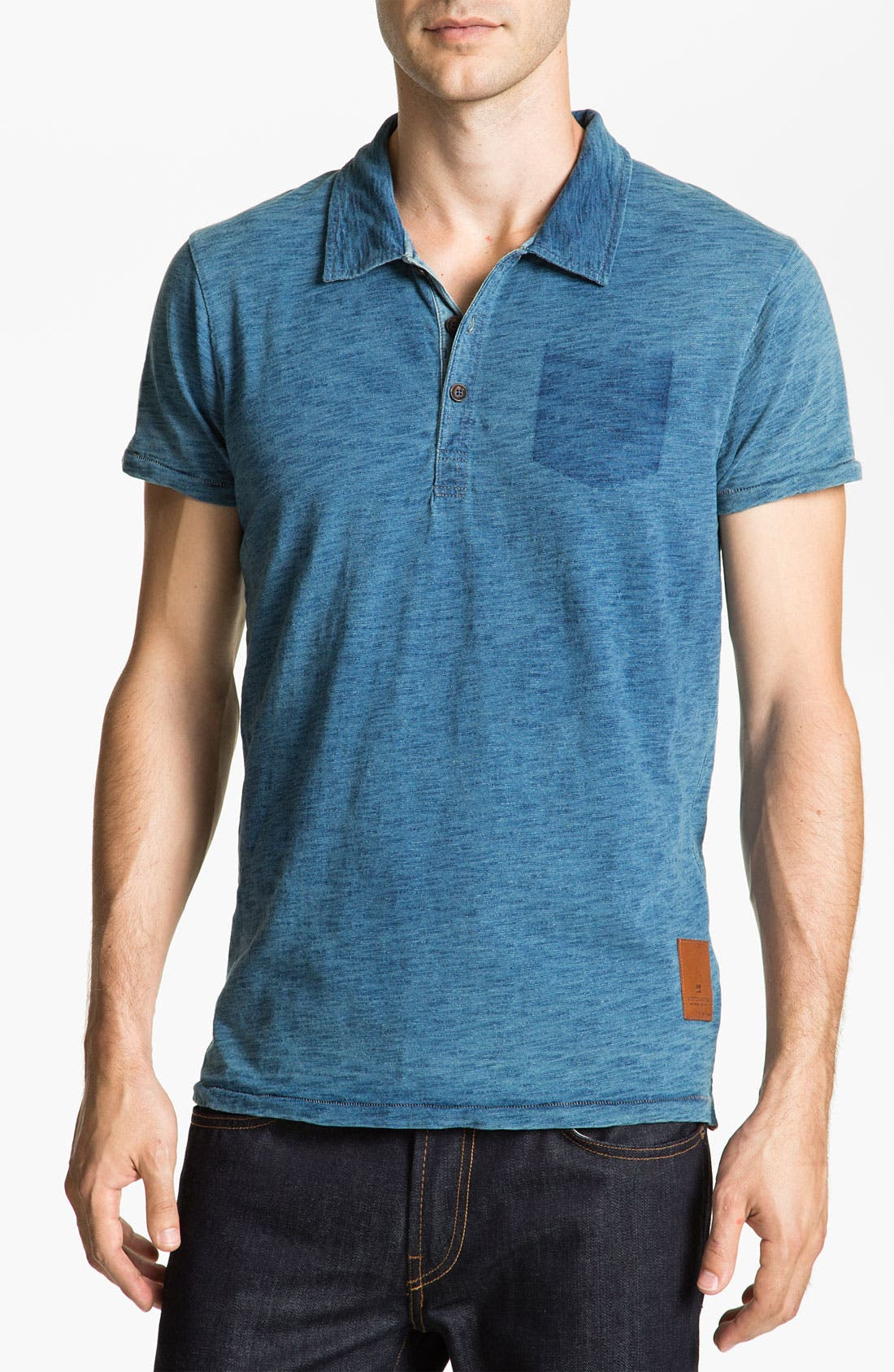 Main Image - Scotch & Soda Treated Polo