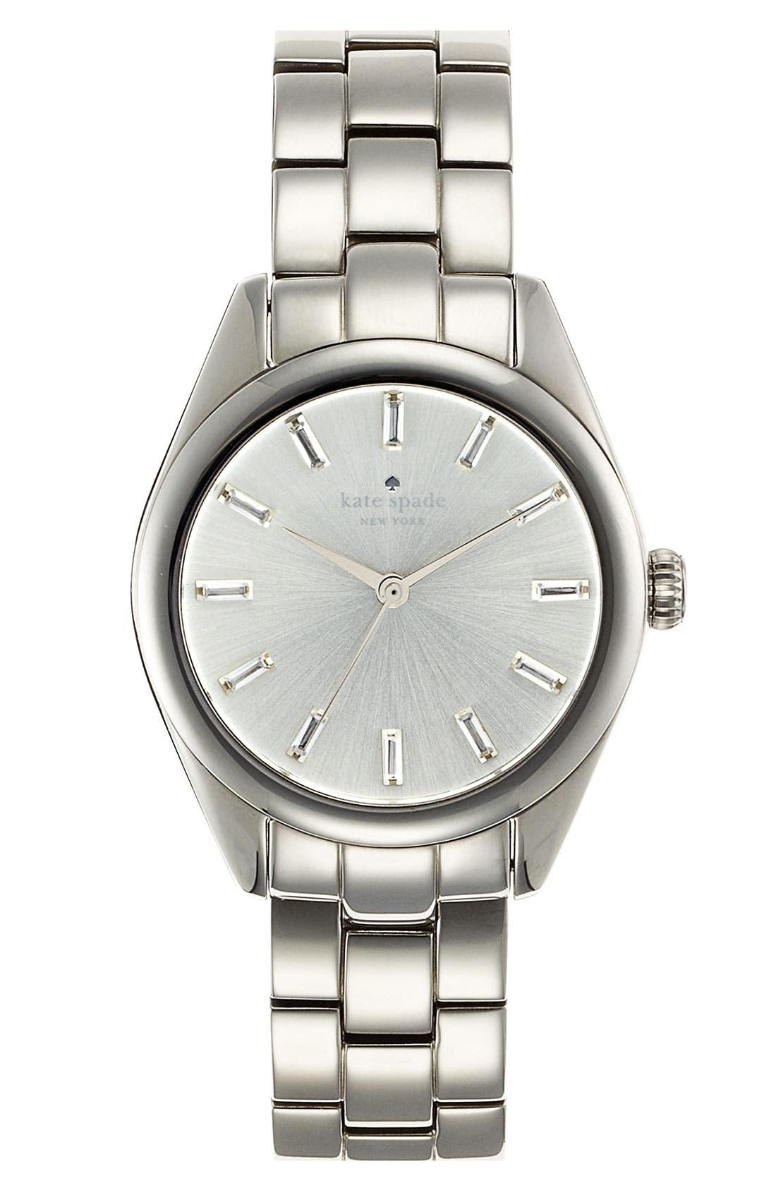 Alternate Image 1 Selected - kate spade new york 'seaport' bracelet watch, 34mm