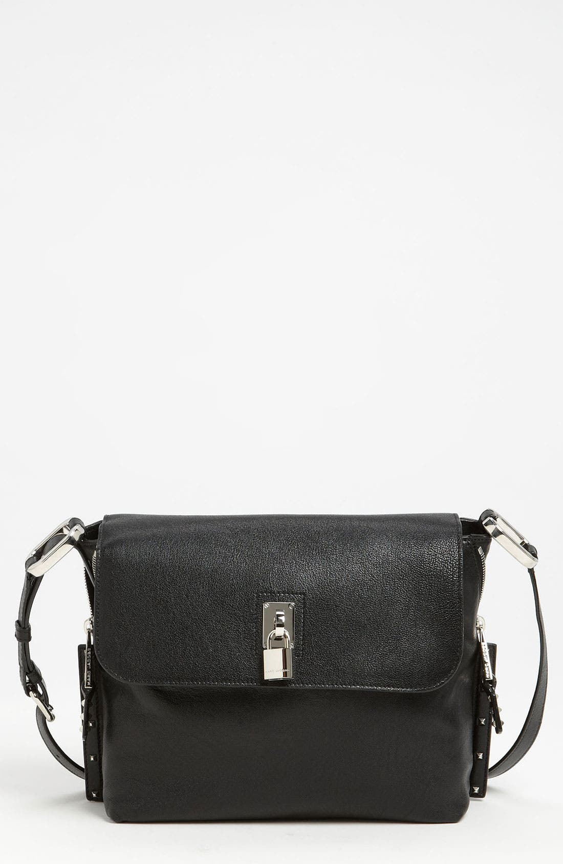 Main Image - MARC JACOBS 'Paradise Baxter' Lambskin Leather Crossbody Bag