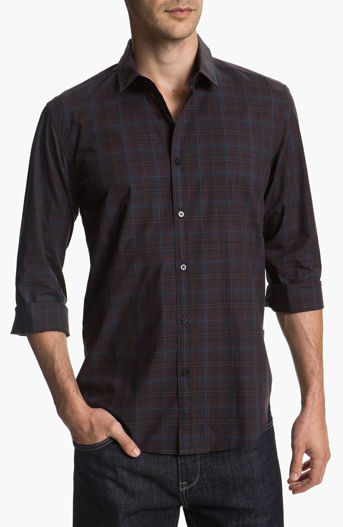 Main Image - BOSS Black 'Peric' Slim Fit Sport Shirt