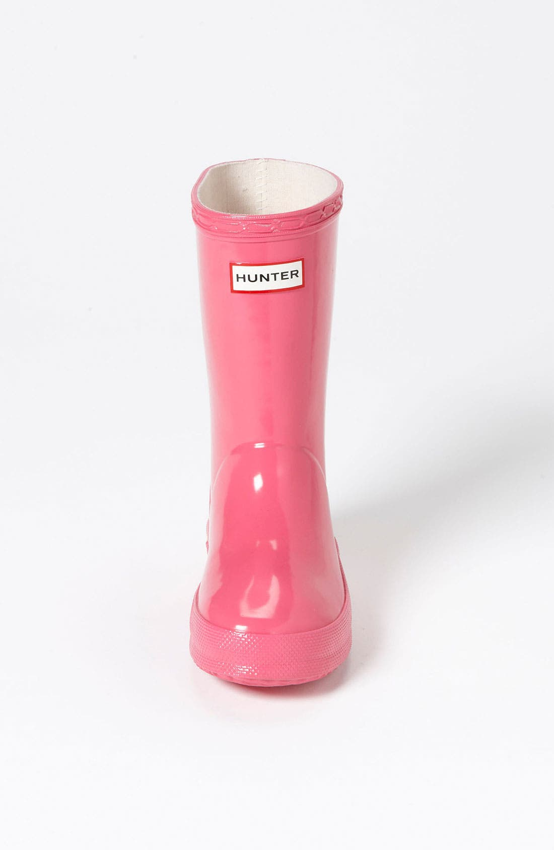 Alternate Image 3  - Hunter 'Kid's First Gloss' Rain Boot (Walker & Toddler)