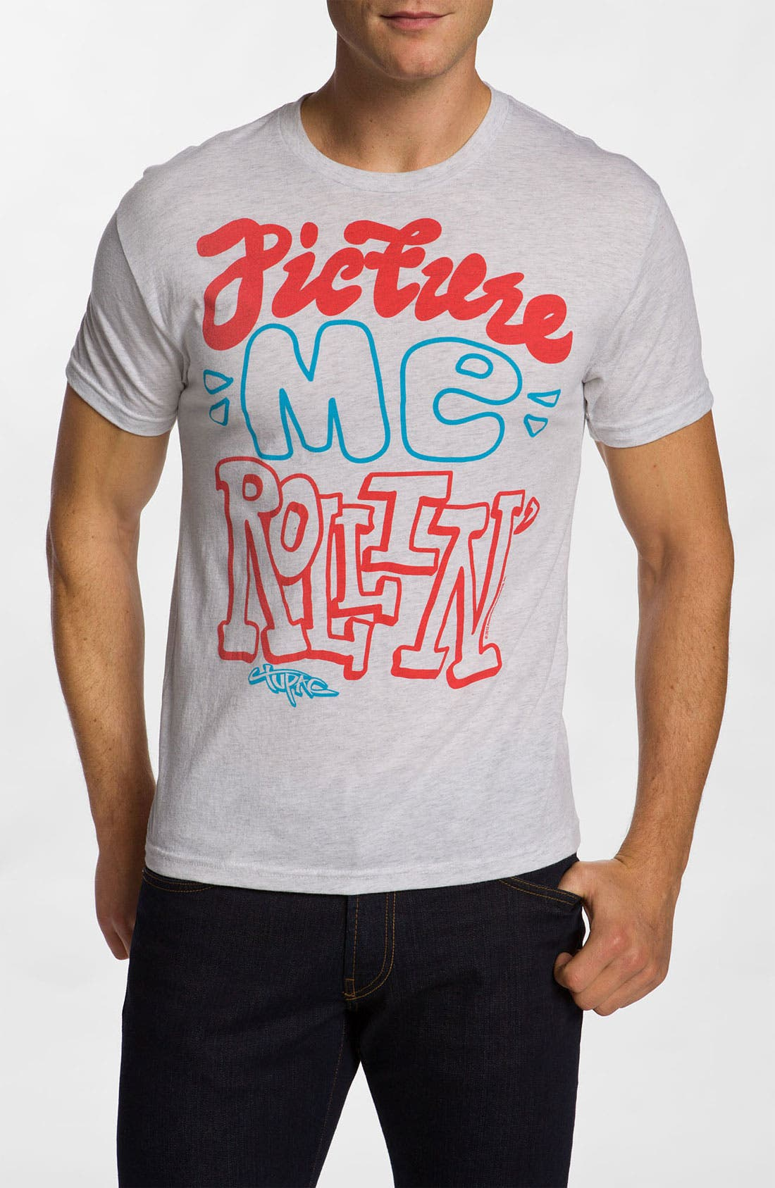 Alternate Image 1 Selected - Free Authority 'Picture Me Rollin' Graphic T-Shirt