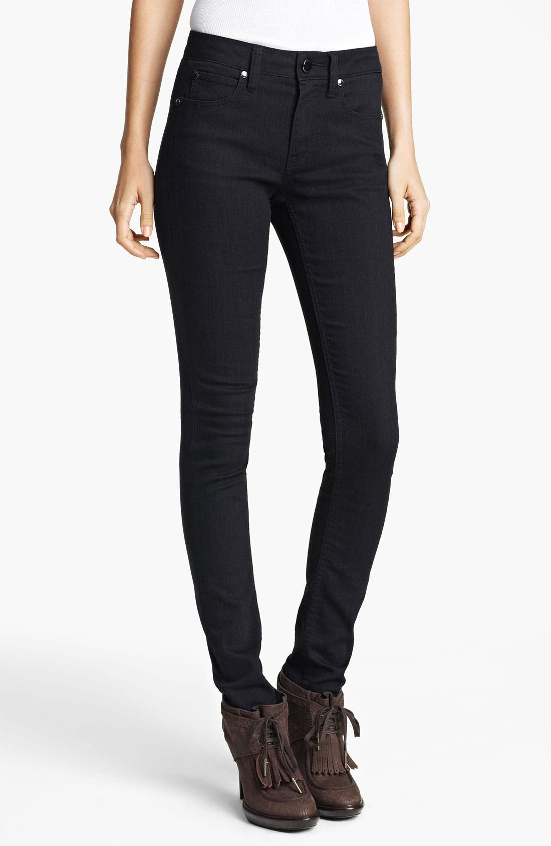 Alternate Image 2  - Burberry London Skinny Stretch Jeans