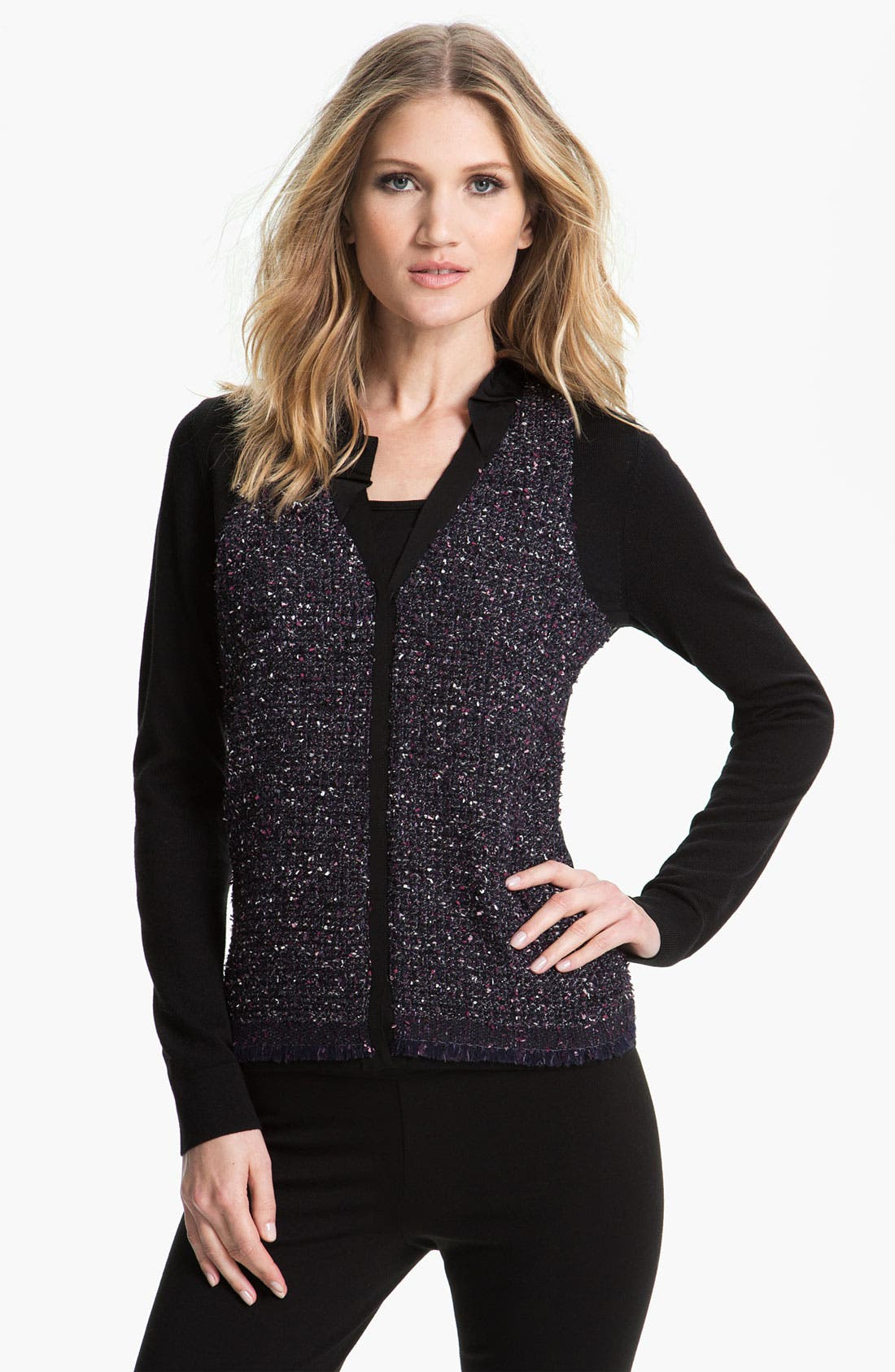 Alternate Image 1 Selected - Elie Tahari 'Caprina' Cardigan