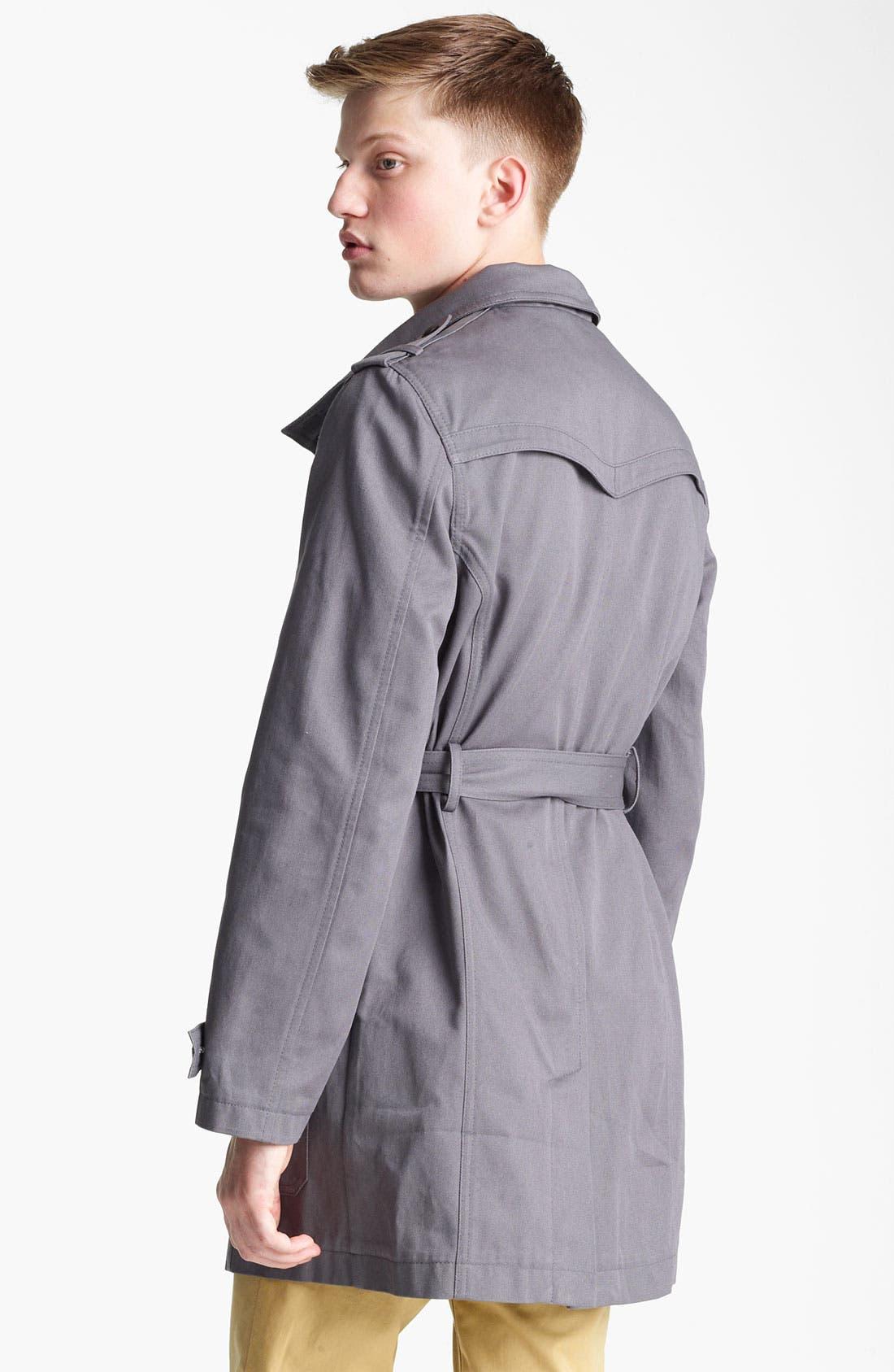 Alternate Image 2  - Topman 'Kennington' Full Length Jacket