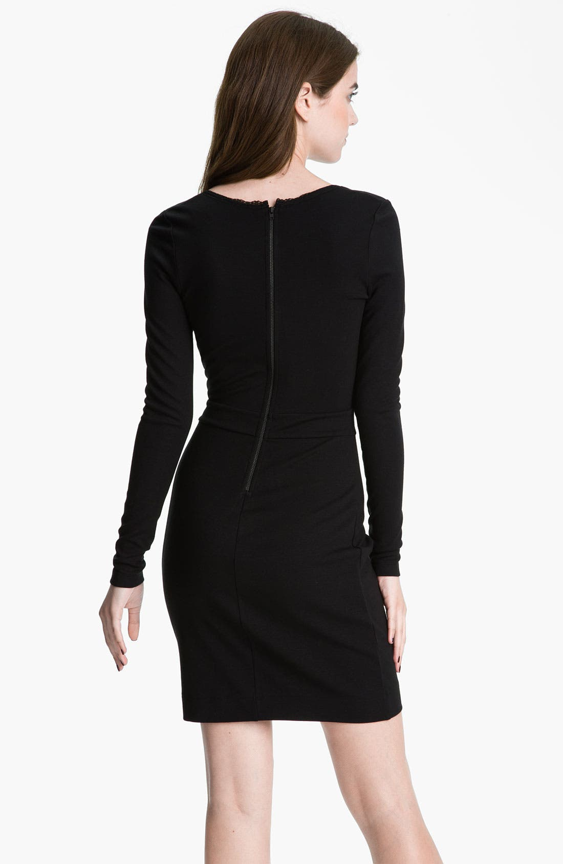 Alternate Image 2  - French Connection 'Alicia' Lace Inset Jersey Sheath Dress