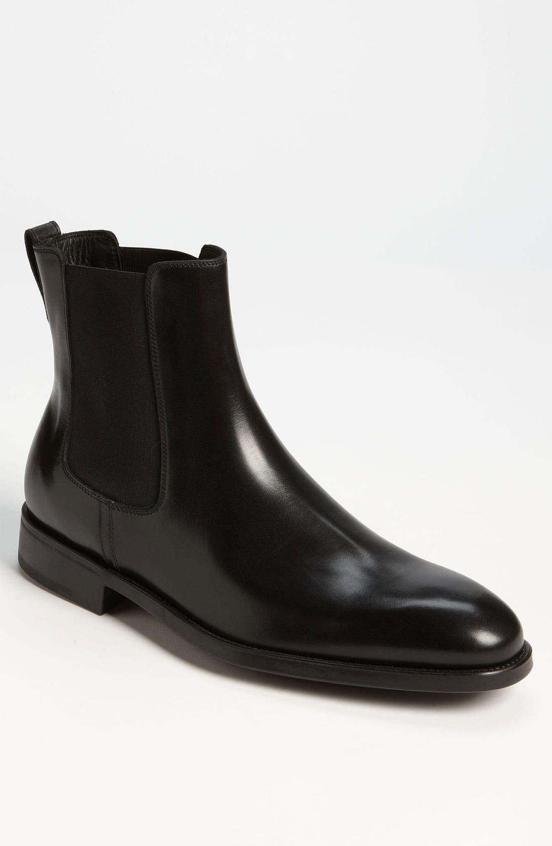 Alternate Image 1 Selected - Salvatore Ferragamo 'Arden' Chelsea Boot (Online Only)