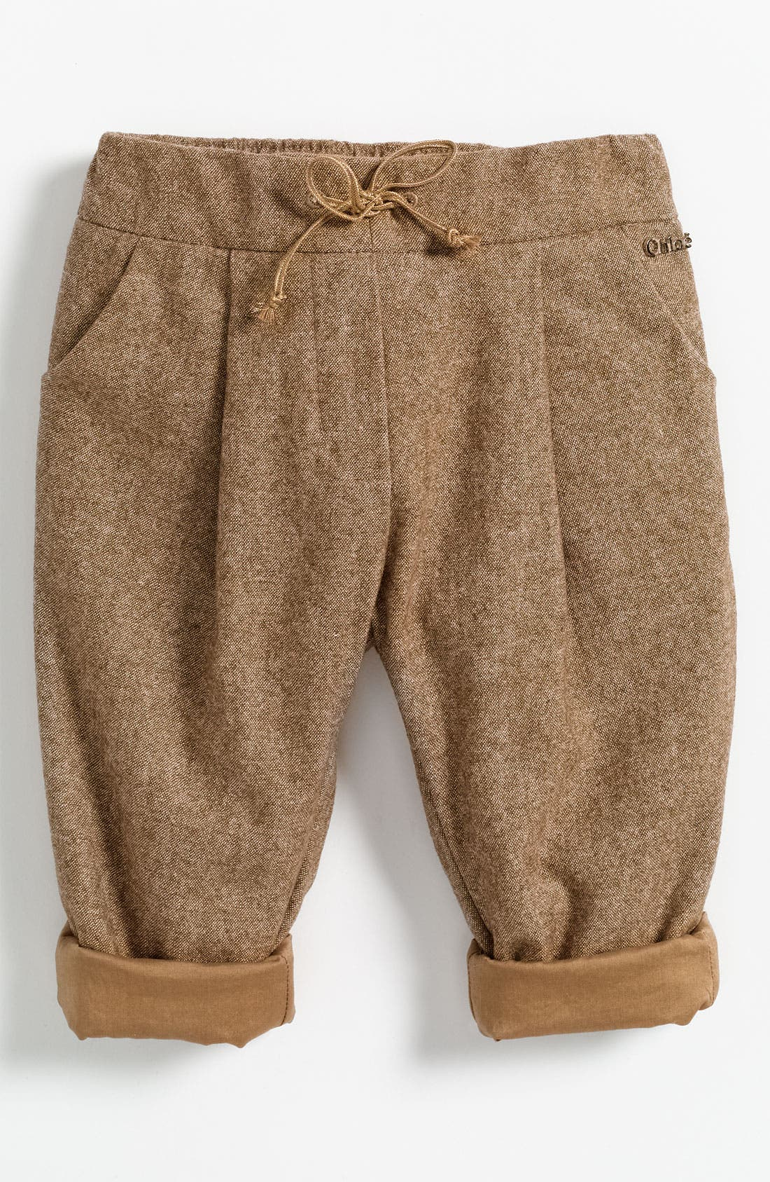 Alternate Image 1 Selected - Chloé Tweed Pants (Toddler)