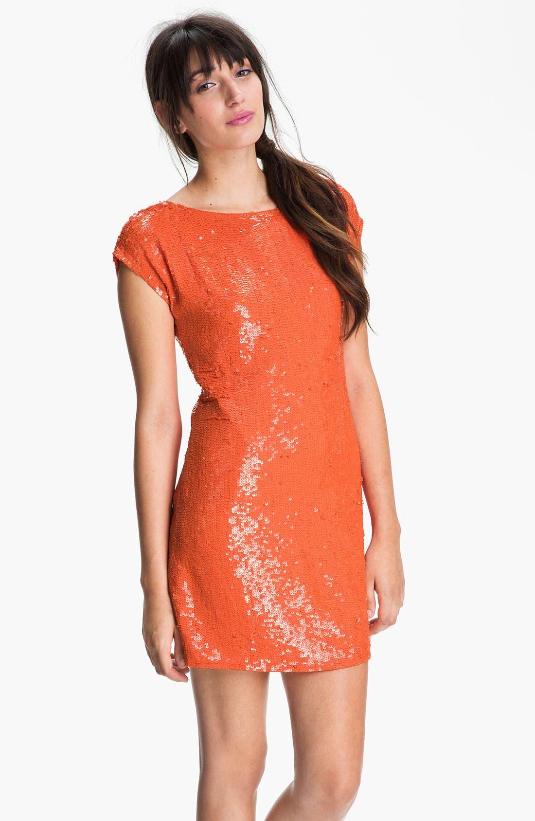 Main Image - Trina Turk Sequin Shift Dress