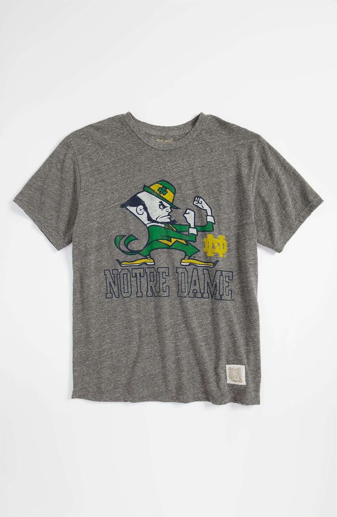 Main Image - Retro Brand 'Notre Dame' T-Shirt (Big Boys)