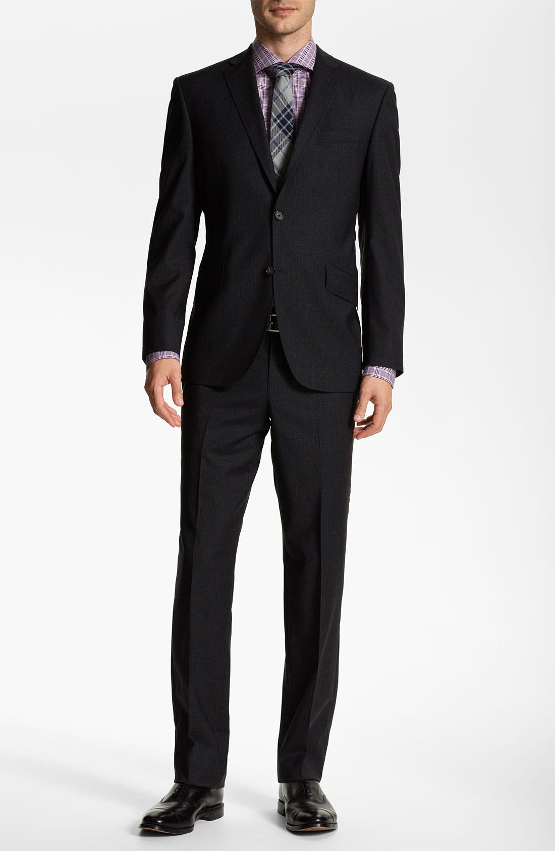 Alternate Image 2  - Ted Baker London 'Jones' Trim Fit Wool Suit