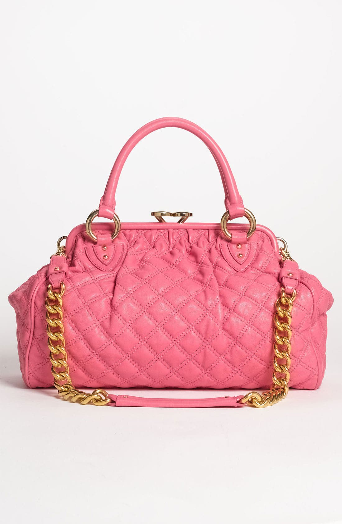 Alternate Image 4  - MARC JACOBS 'Quilting Stam' Leather Satchel