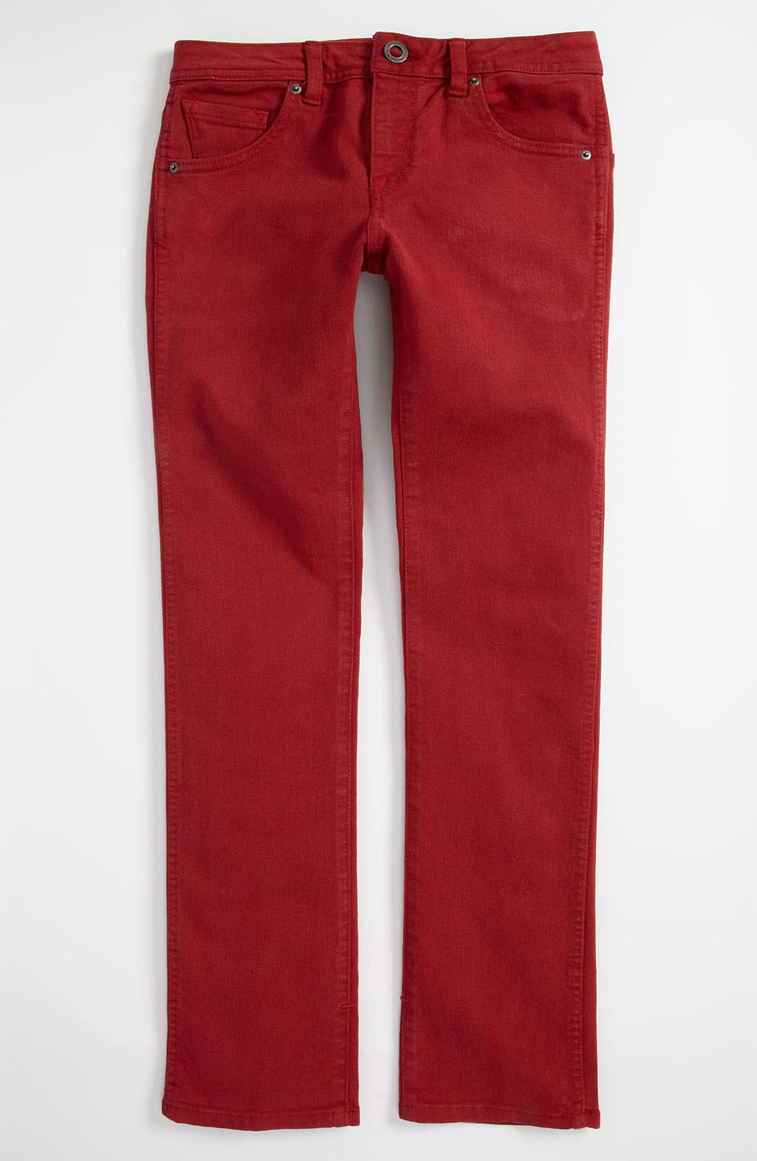 Alternate Image 2  - Volcom '2x4' Skinny Jeans (Big Boys)