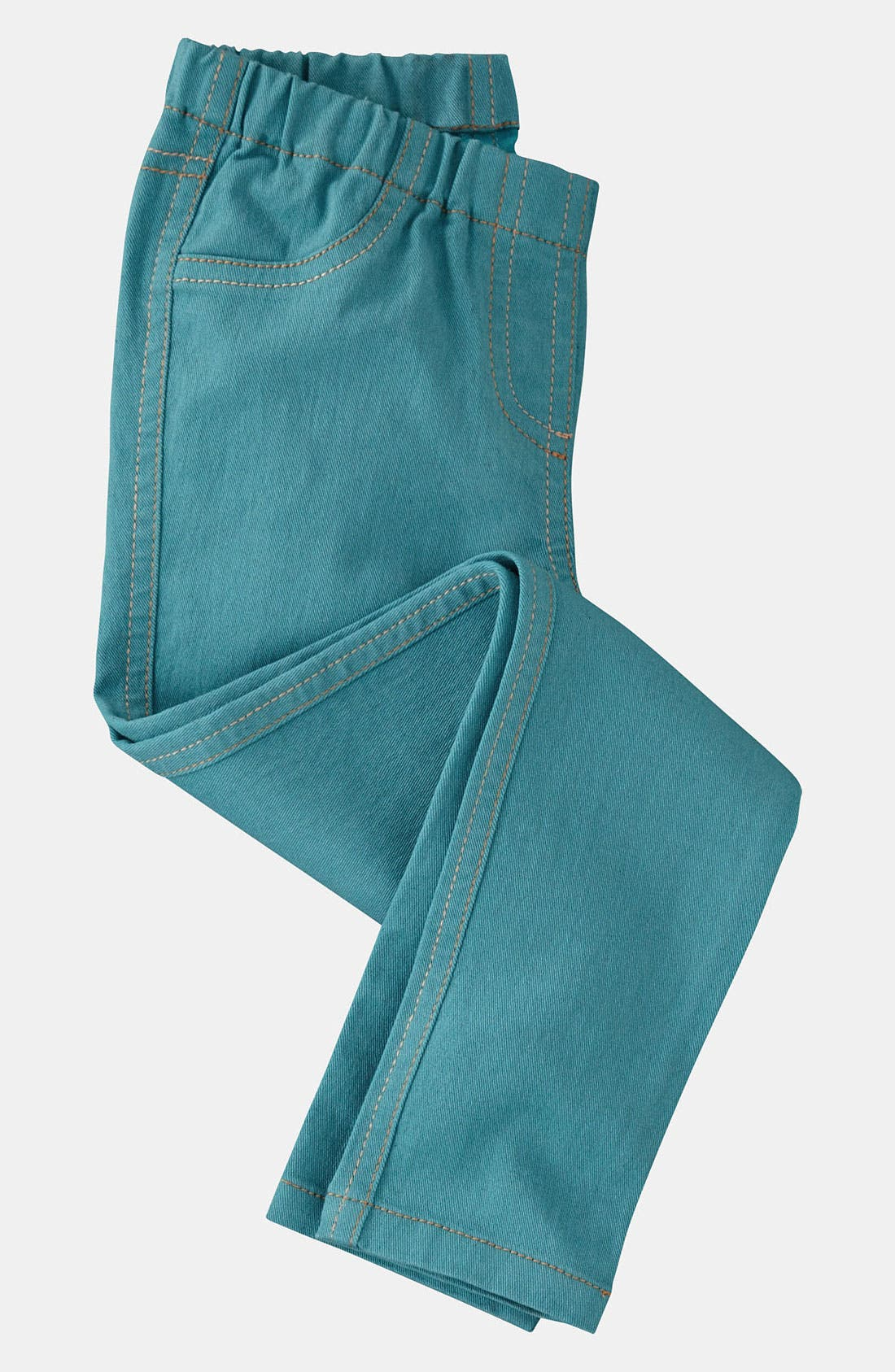 Alternate Image 1 Selected - Mini Boden Denim Leggings (Little Girls & Big Girls)