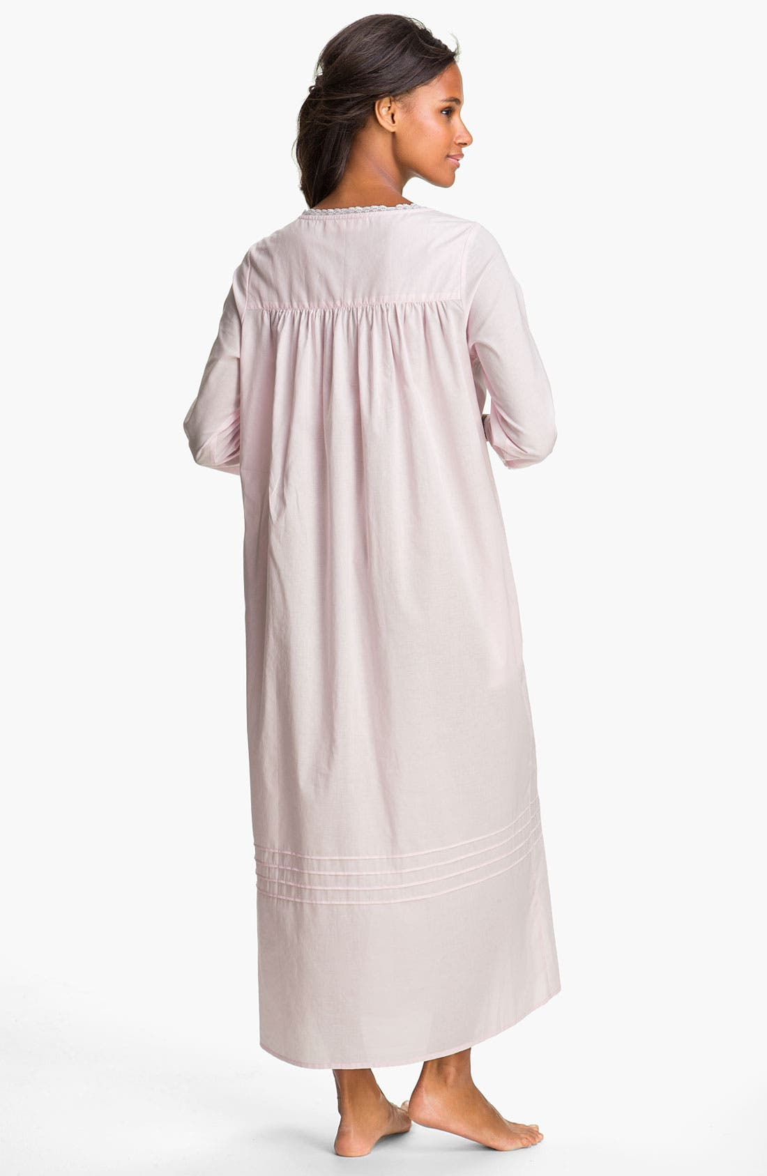 Alternate Image 2  - Eileen West Button Front Nightgown