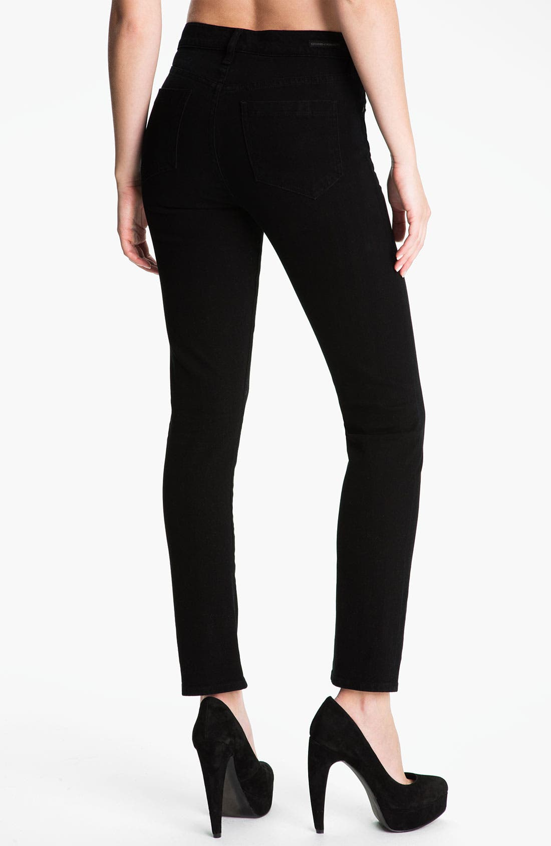 Alternate Image 2  - Citizens of Humanity 'Carlton' Crop Skinny Jeans (Freefall)