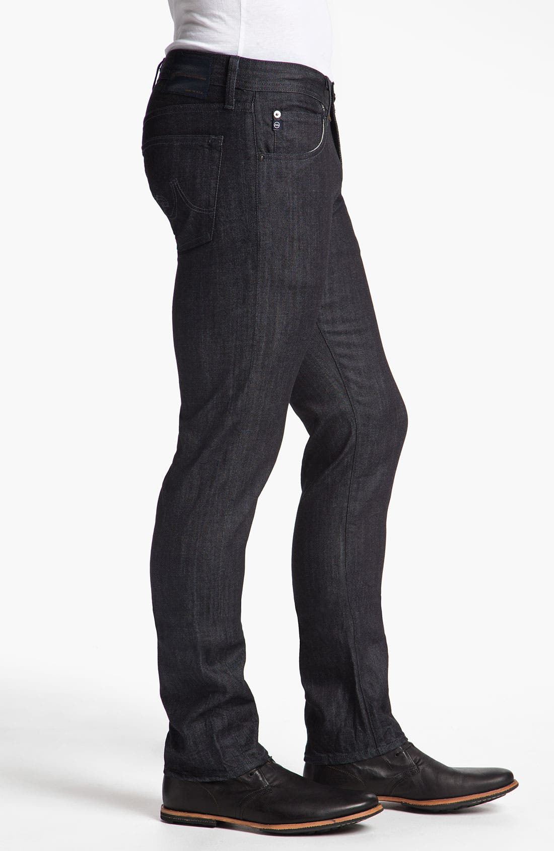 Alternate Image 3  - AG Jeans 'Matchbox' Slim Straight Leg Jeans (Baltic)(Save Now through 12/9)