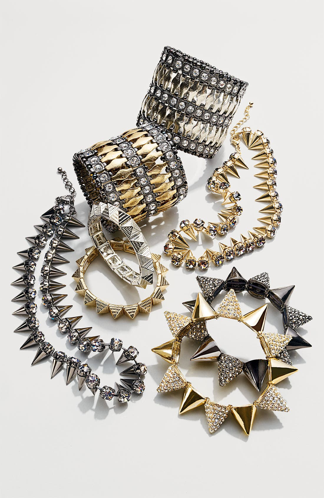Alternate Image 3  - Cara Spiked Stretch Bracelet