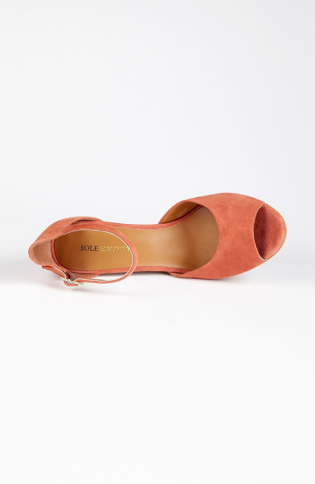 Alternate Image 4  - Sole Society 'Audrey' Sandal