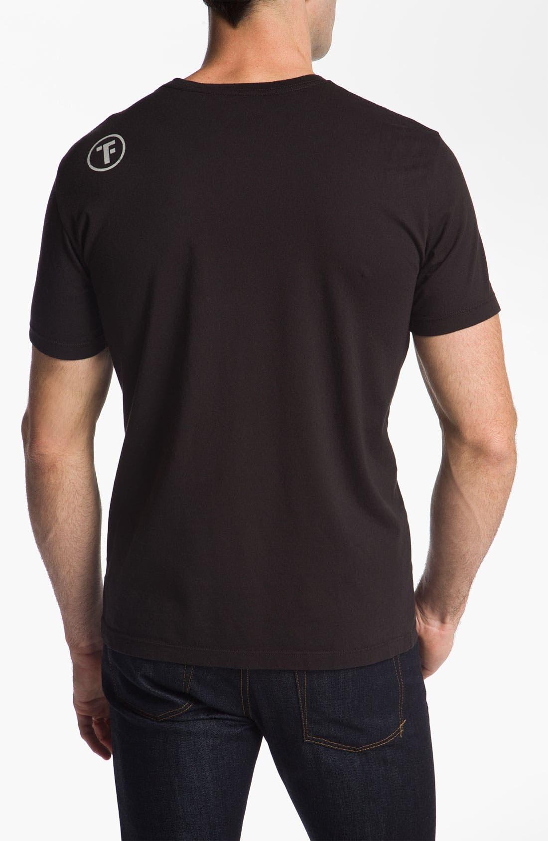 Alternate Image 2  - Tankfarm 'Skull & Wrench' T-Shirt