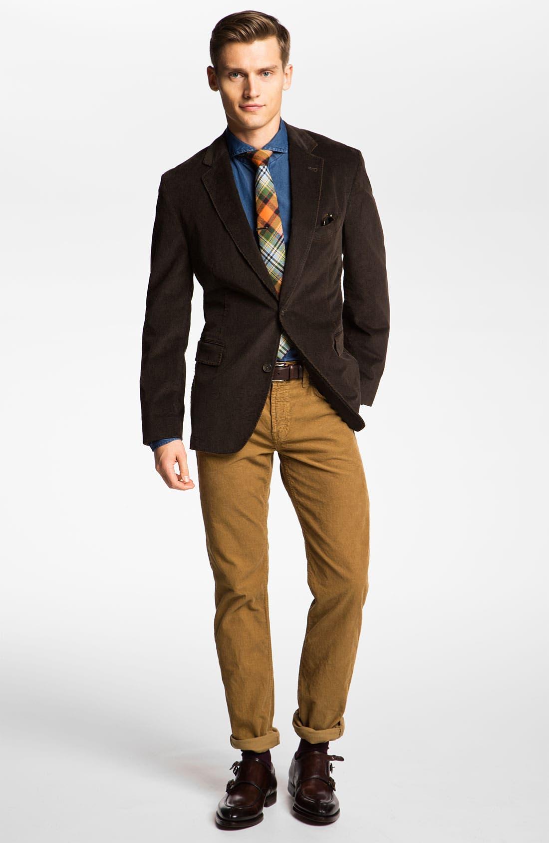 Alternate Image 4  - J Brand 'Kane' Slim Straight Leg Corduroy Pants