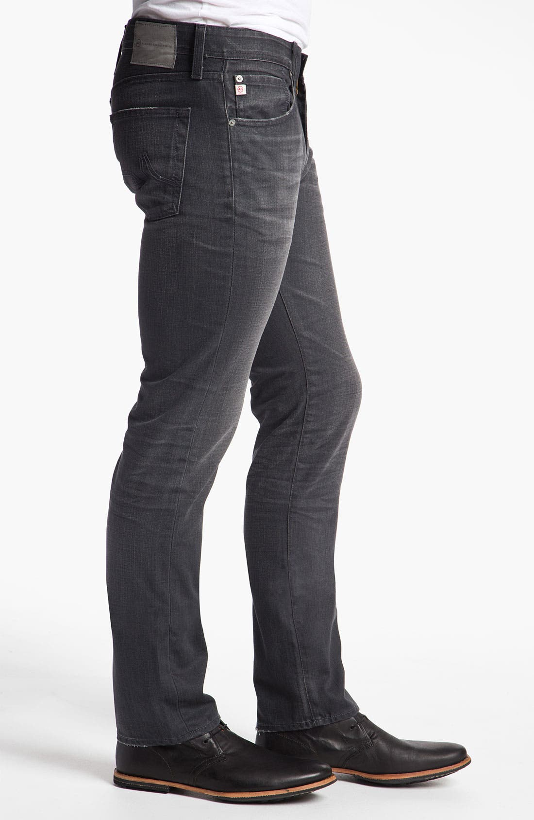 Alternate Image 3  - AG Jeans 'Matchbox' Slim Straight Leg Jeans (4 Year Grey)