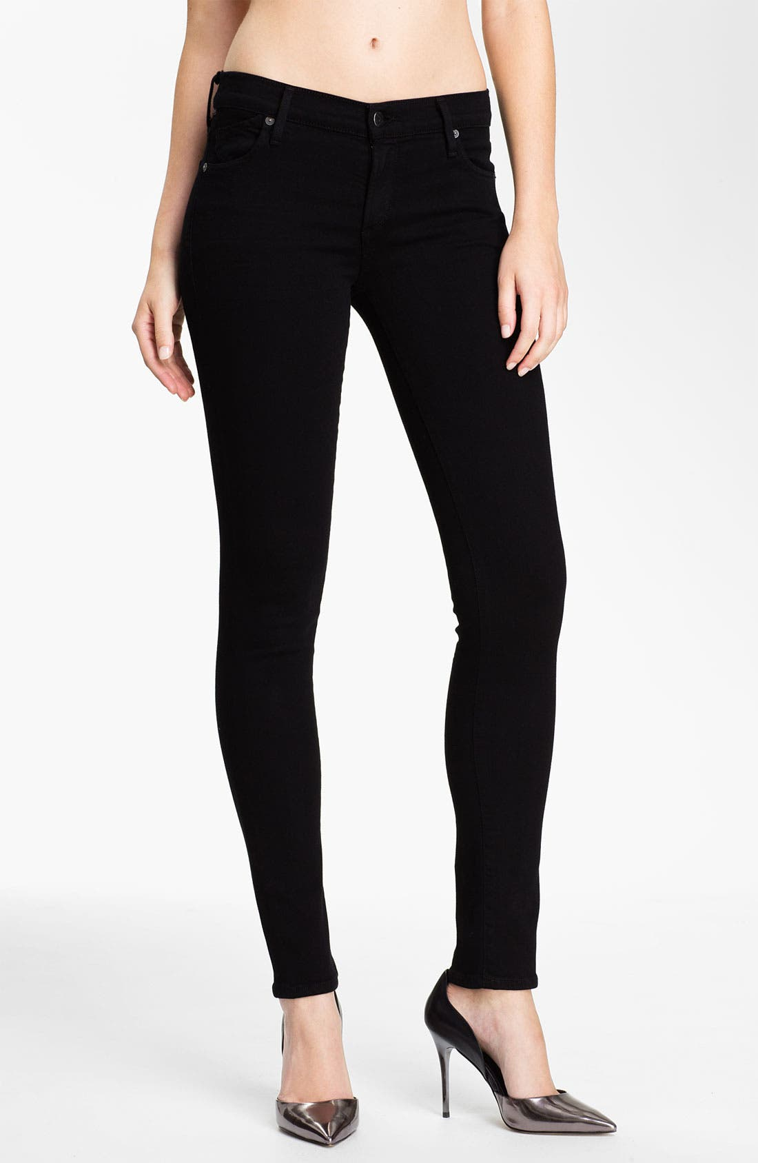 Alternate Image 1 Selected - Citizens of Humanity Skinny Stretch Leggings (Axle)