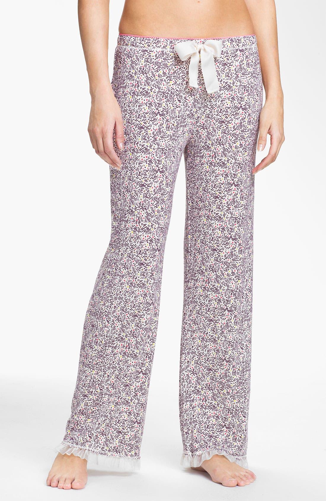 Alternate Image 1 Selected - Kensie 'Starry Eyes' Lounge Pants