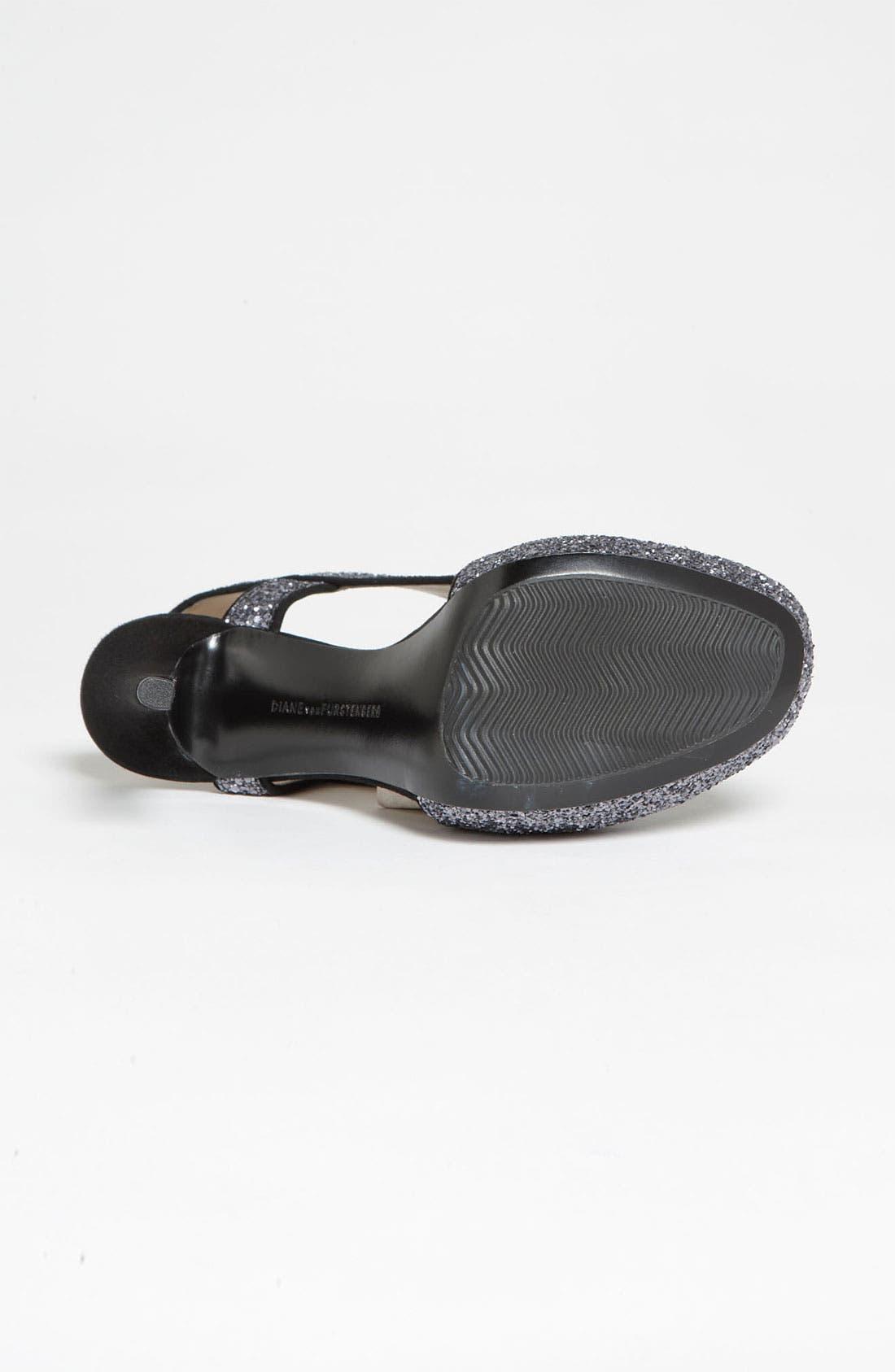 Alternate Image 4  - Diane von Furstenberg 'Zia' Glitter Sandal