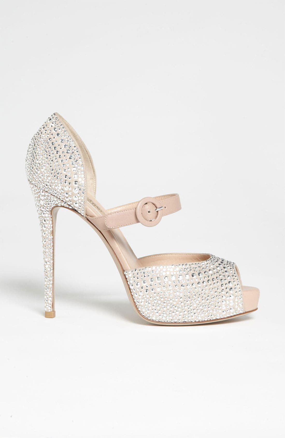 Alternate Image 5  - Valentino 'Microstud' Mary Jane Pump