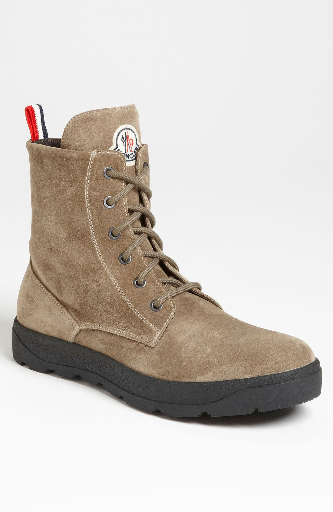 Alternate Image 1 Selected - Moncler 'Park' Suede Boot