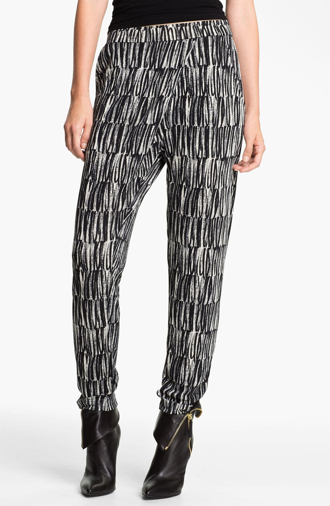 Main Image - Cut25 Print Jersey Pants