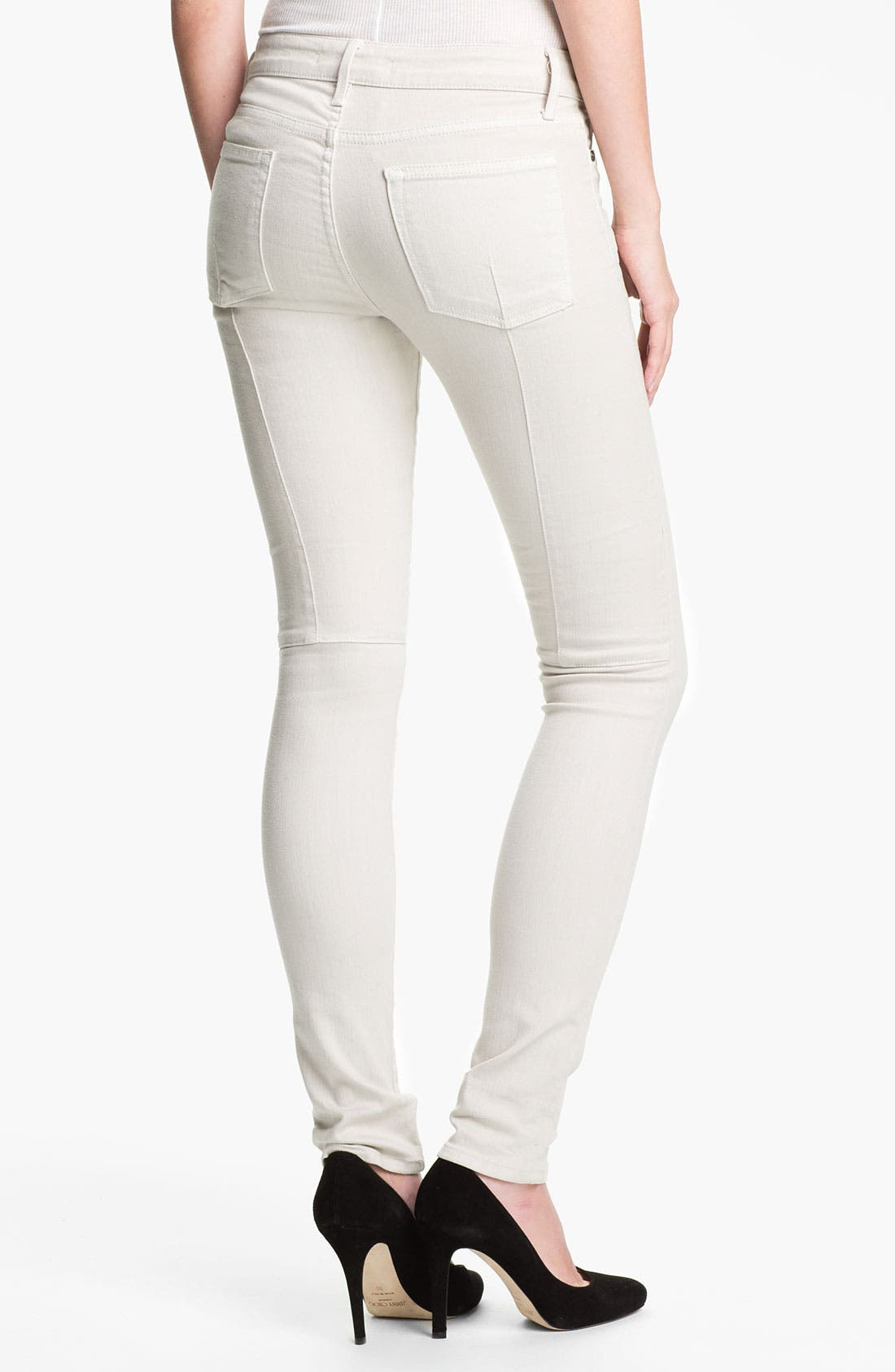 Alternate Image 2  - Vince Stretch Skinny Jeans (Snow)