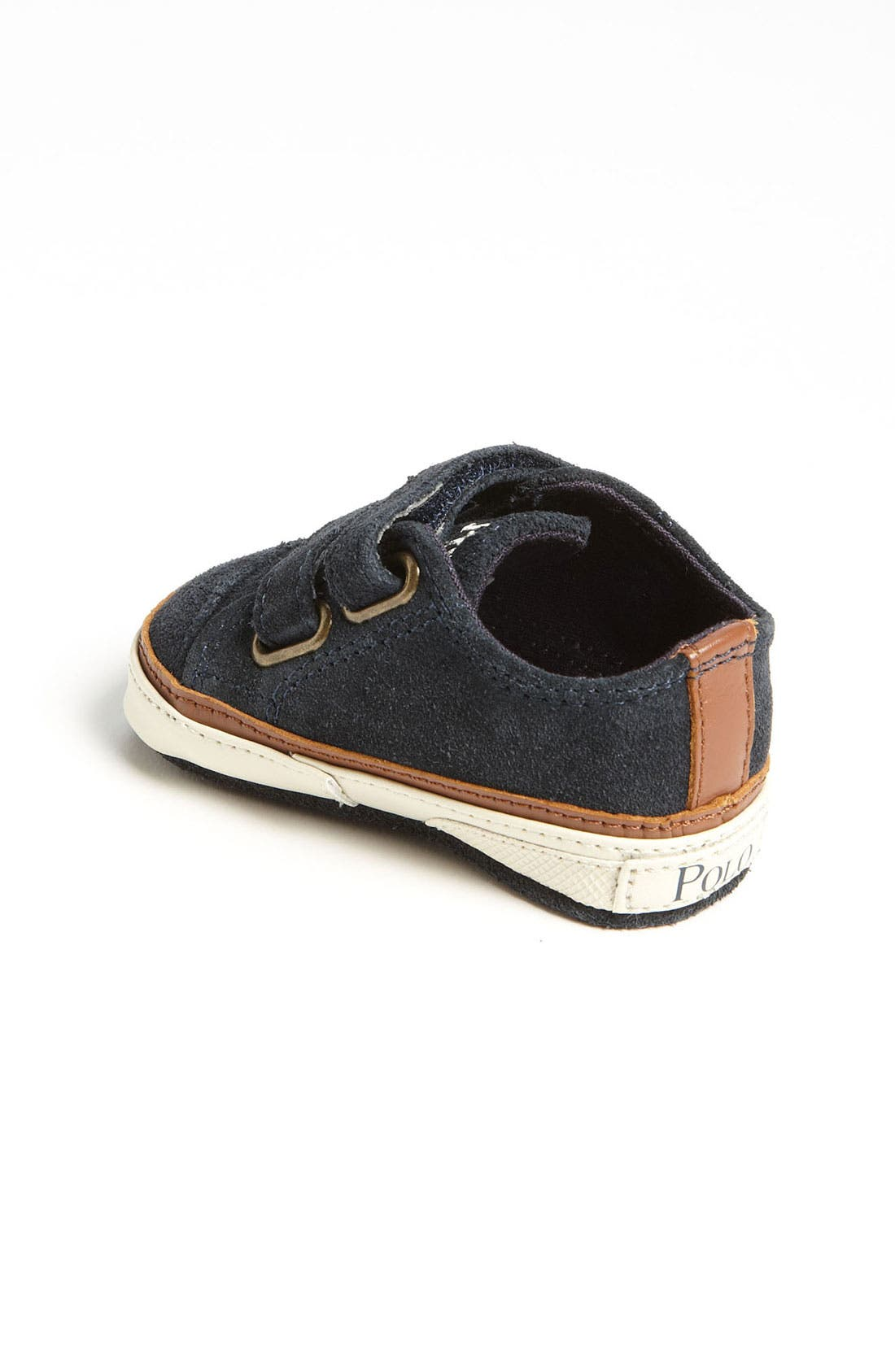 Alternate Image 2  - Ralph Lauren Layette Crib Shoe (Baby)