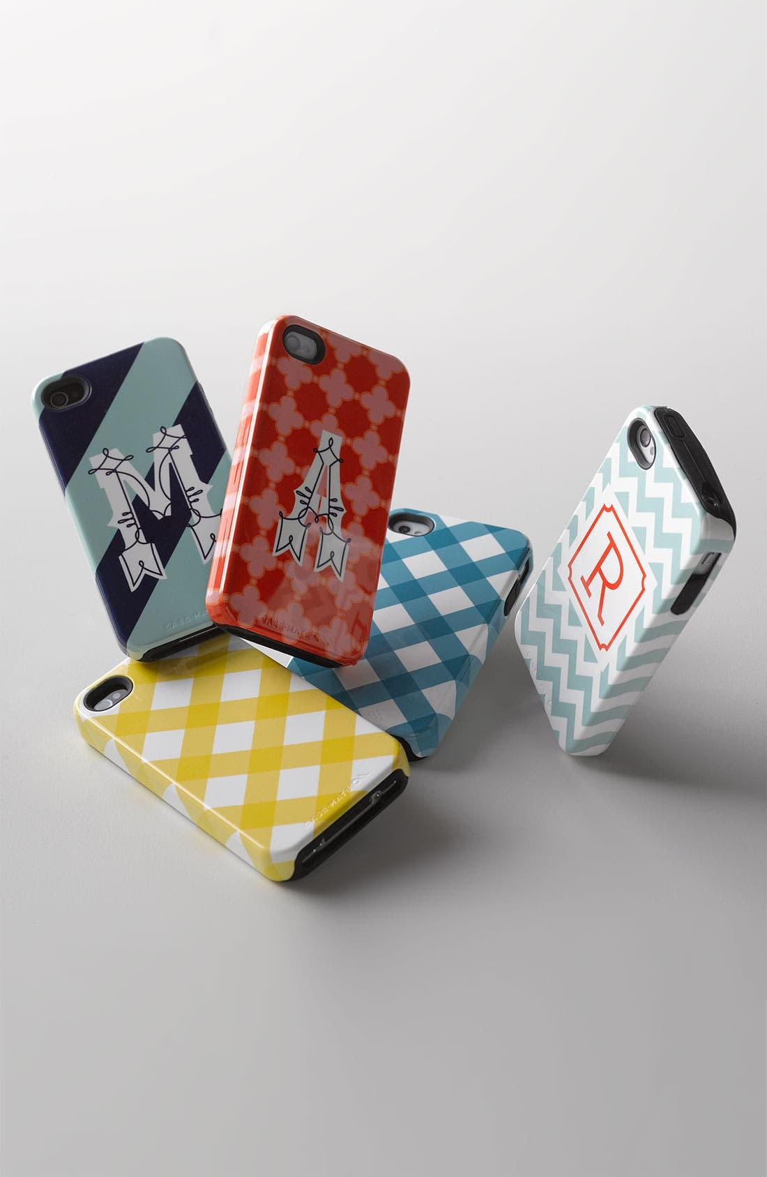 Alternate Image 2  - Case-Mate® 'Monogram Diagonal Stripe' iPhone 5 Case (Nordstrom Exclusive)