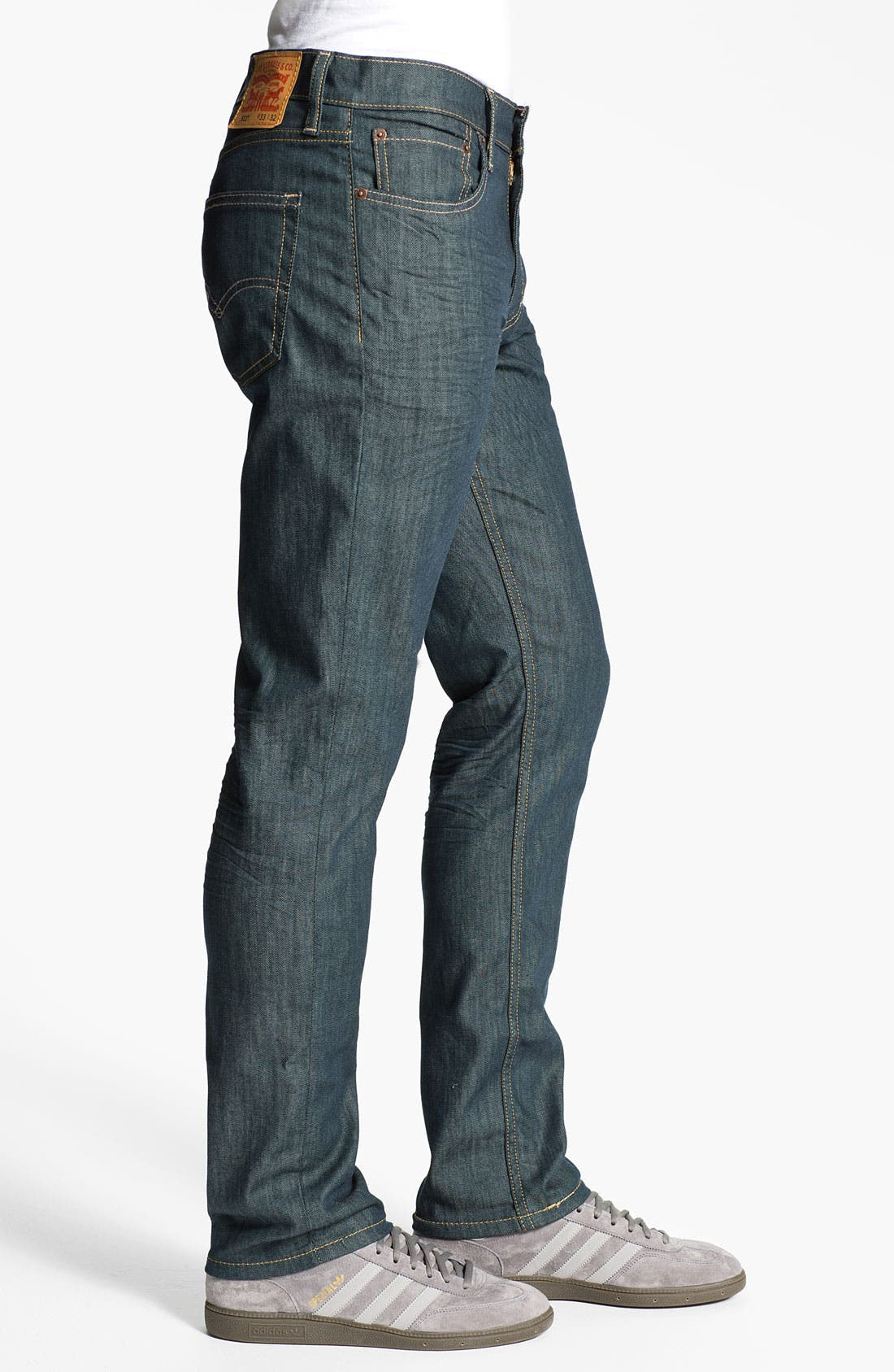 Alternate Image 3  - Levi's® '511™' Skinny Leg Jeans (Rinsed Playa)