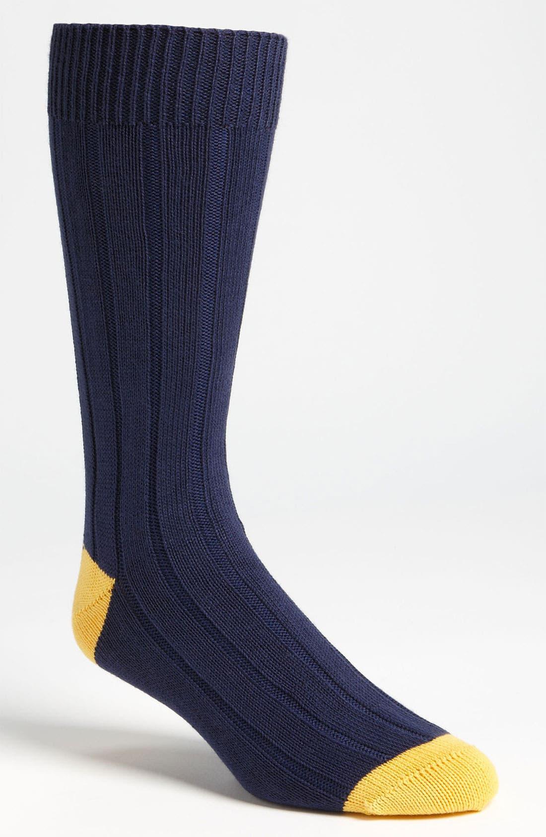 Main Image - Scott-Nichol Rib Knit Socks