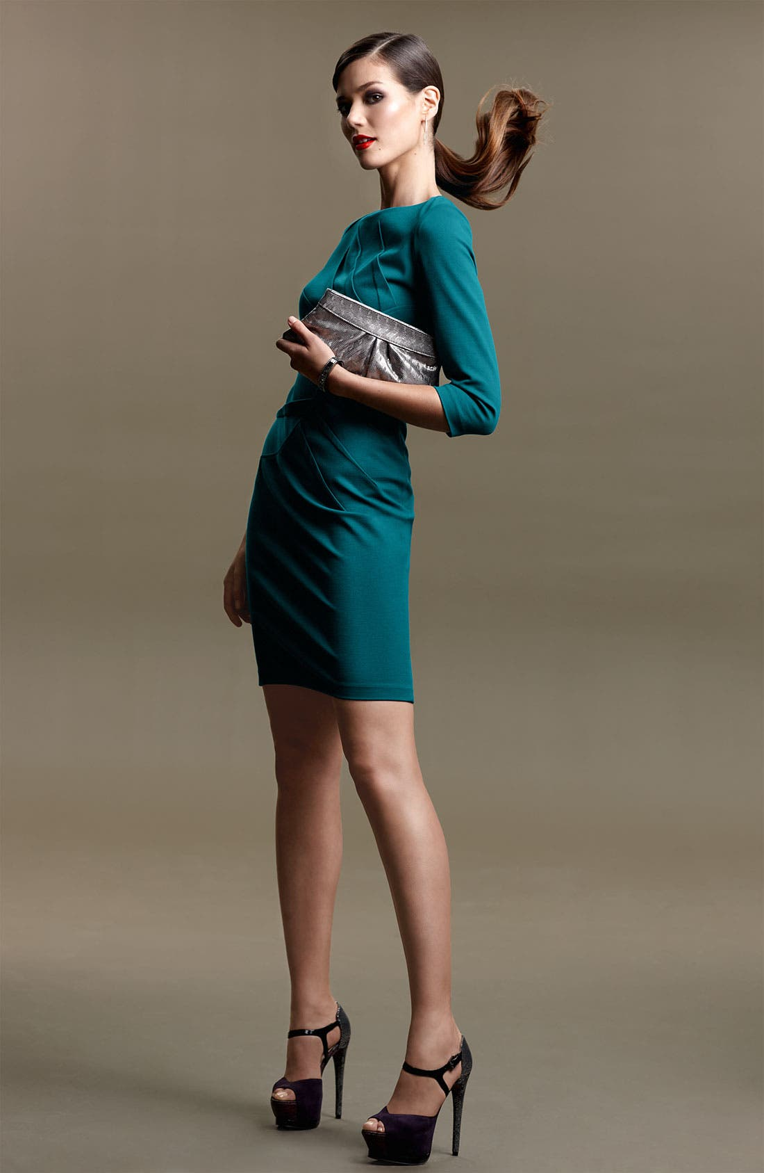 Main Image - Adrianna Papell Dress & Accessories