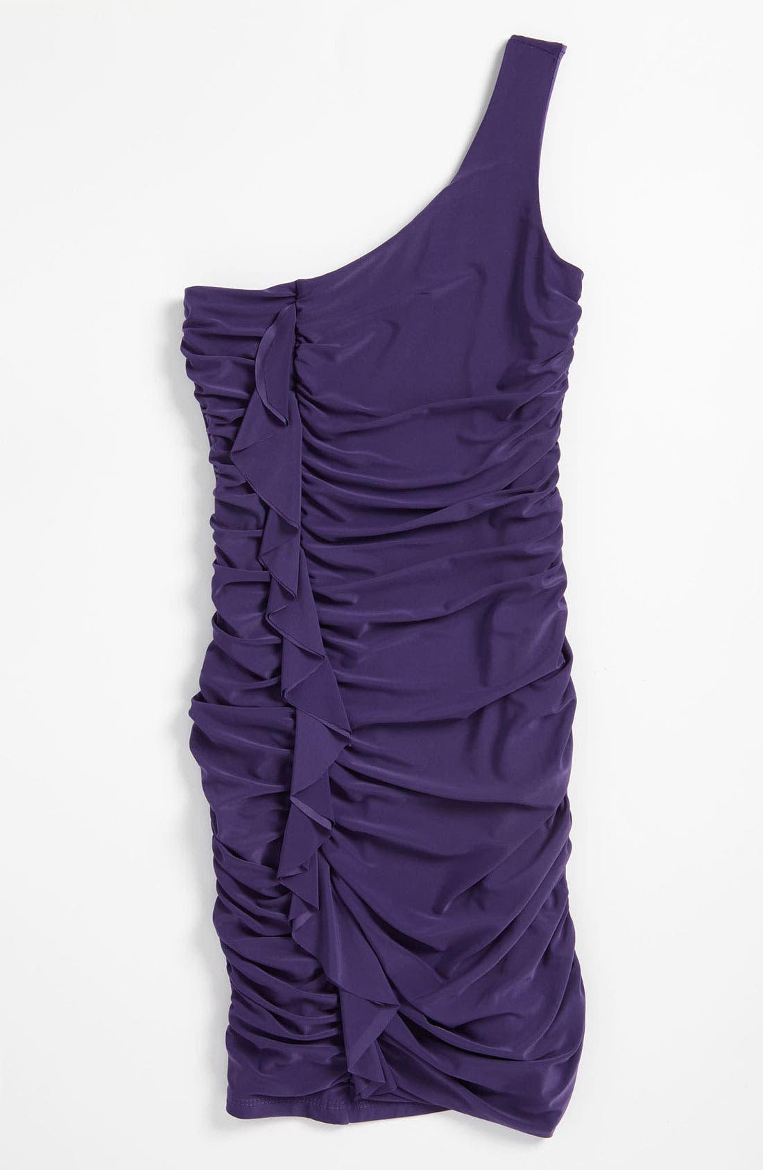 Alternate Image 1 Selected - Un Deux Trois One Shoulder Dress (Big Girls)