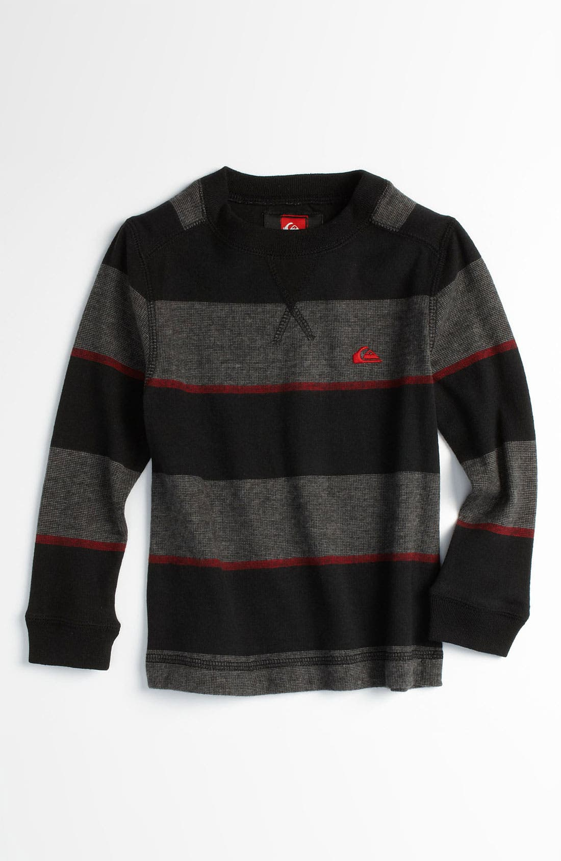 Alternate Image 1 Selected - Quiksilver 'Snit' Stripe Sweater (Toddler)