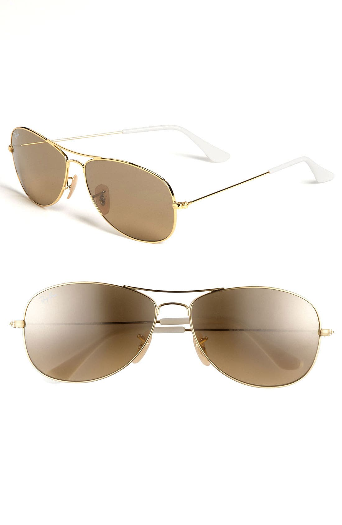 Alternate Image 1 Selected - Ray-Ban 'New Classic Aviator' 59mm Sunglasses