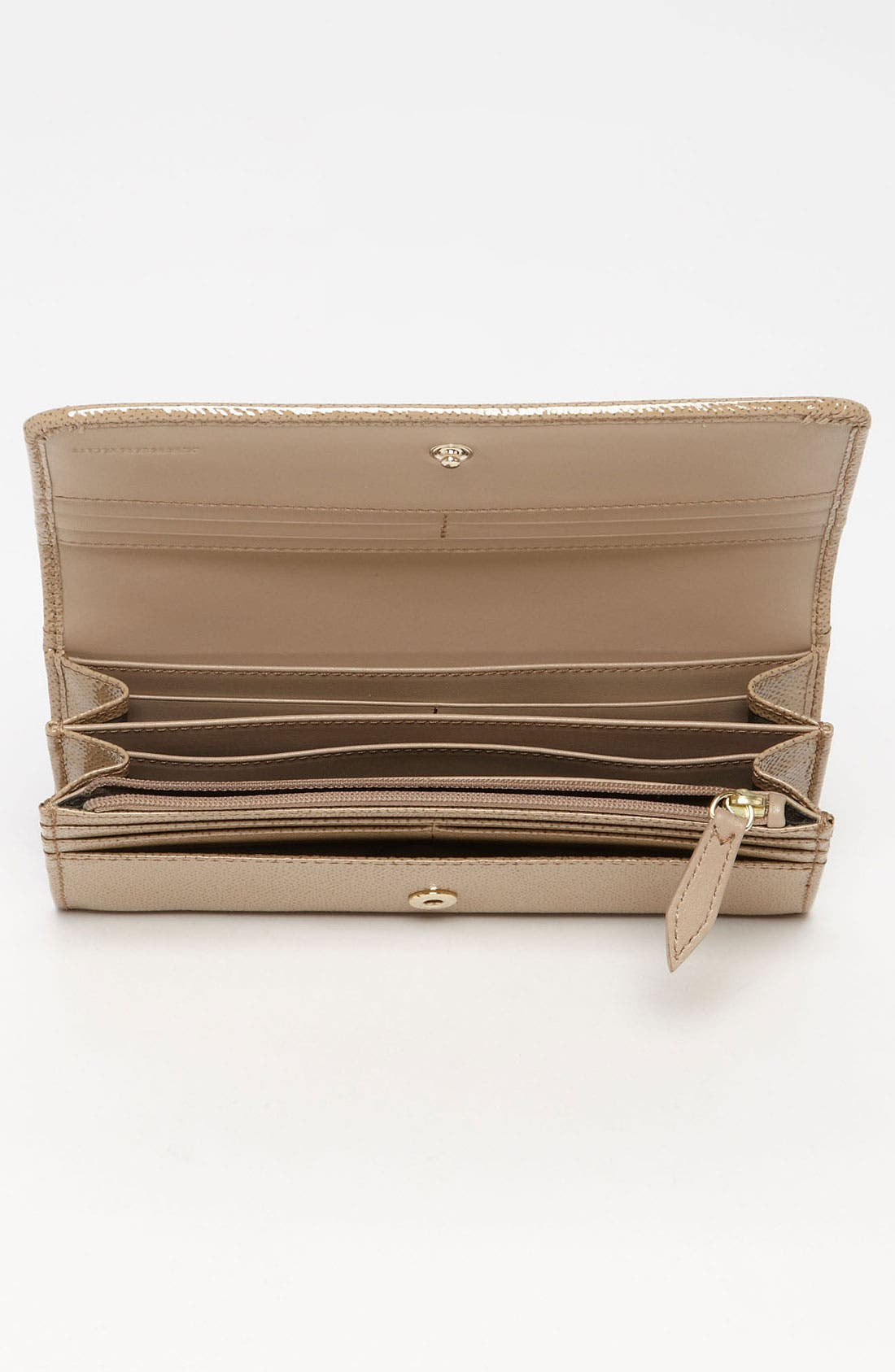 Alternate Image 3  - Burberry Patent Leather Wallet