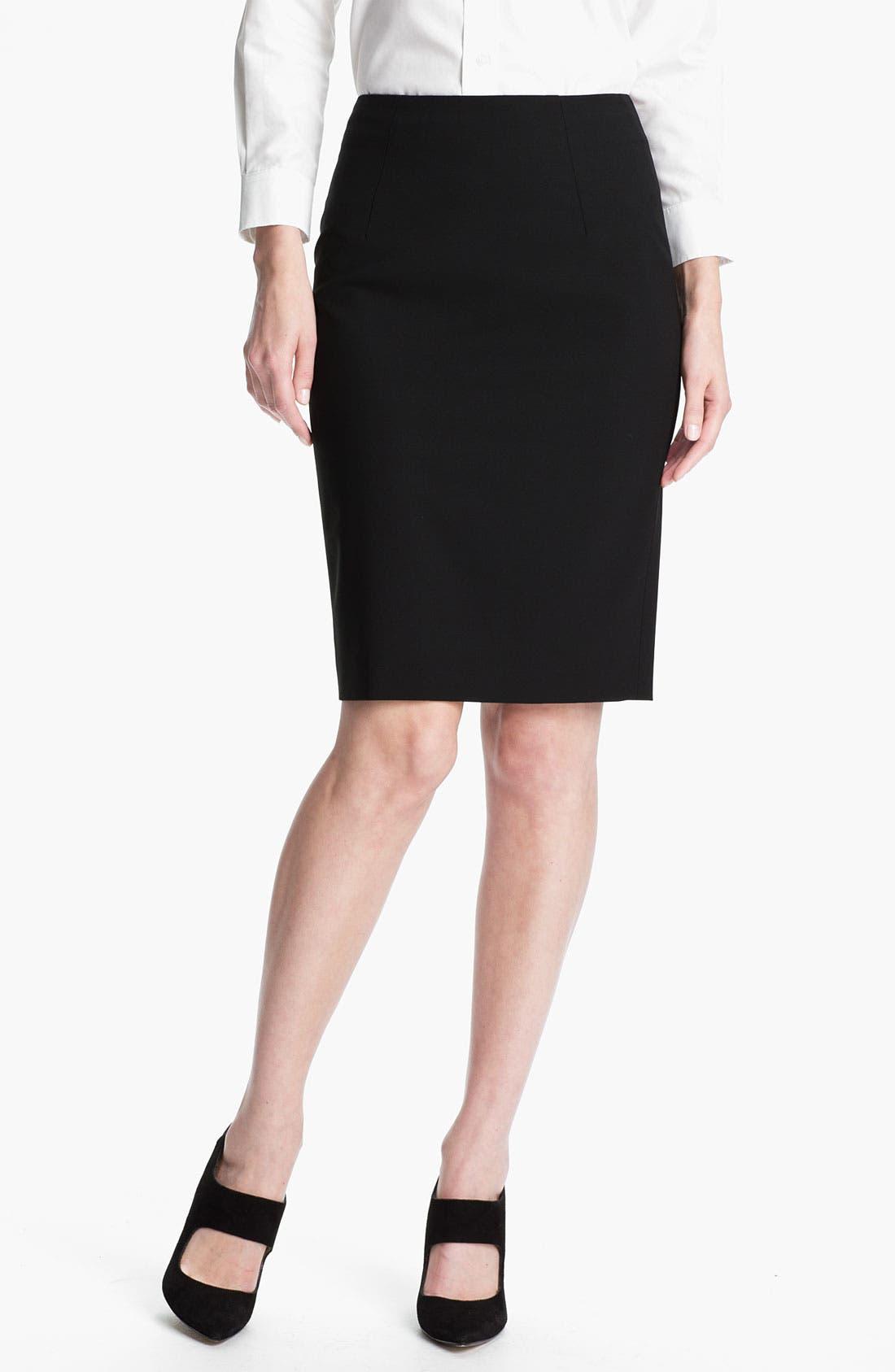 'Vilina' Skirt,                         Main,                         color, Black