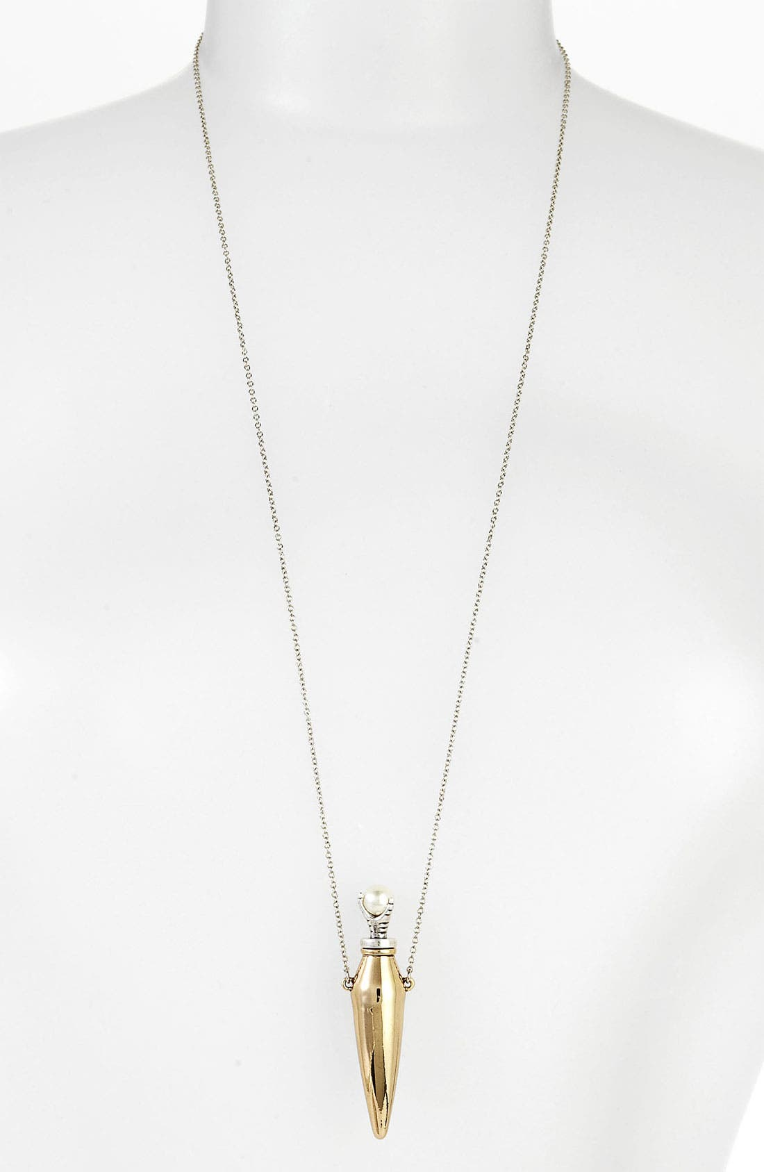 Alternate Image 1 Selected - House of Harlow 1960 Faux Pearl Vial Necklace