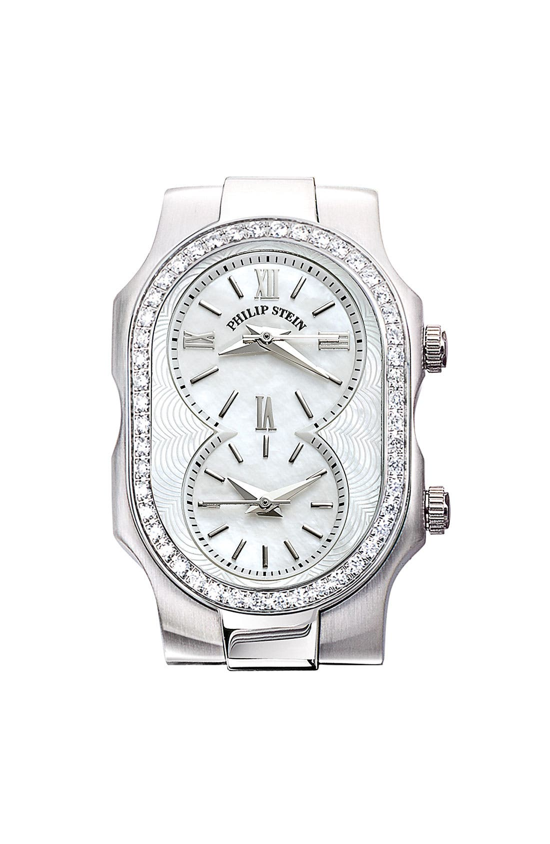 Alternate Image 1 Selected - Philip Stein® 'Signature' Small Diamond Watch Case