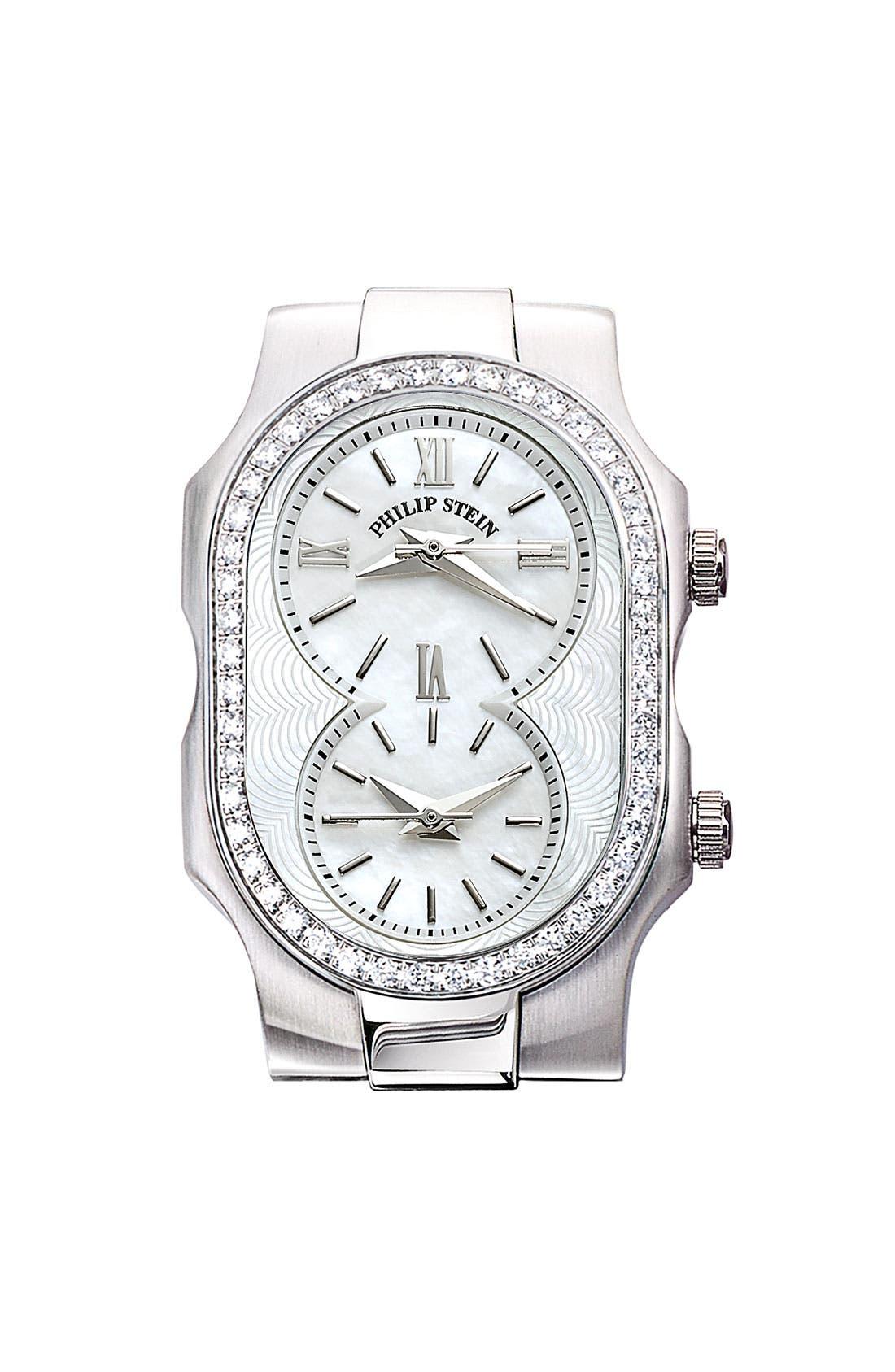 Main Image - Philip Stein® 'Signature' Small Diamond Watch Case
