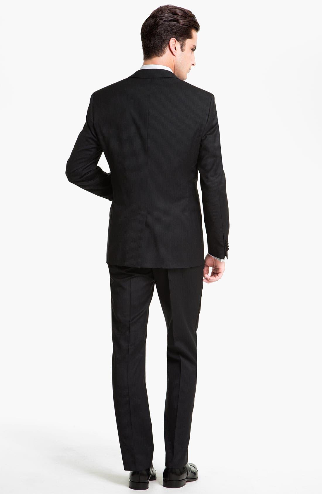 Alternate Image 3  - BOSS Black 'The Joy/Gala' Trim Fit Stripe Tuxedo